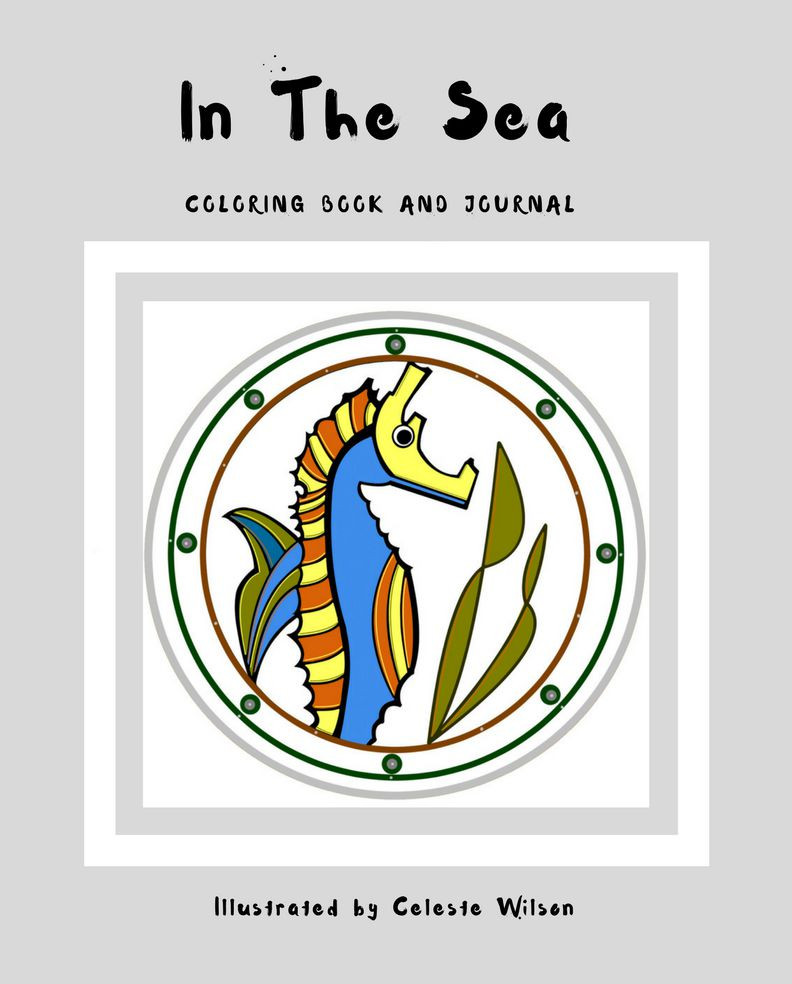 In the Sea Coloring Book