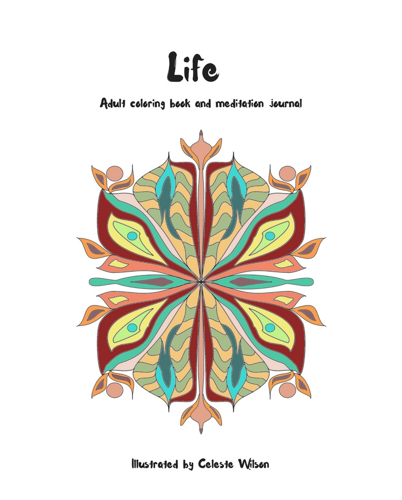 Life Coloring Book and Journal
