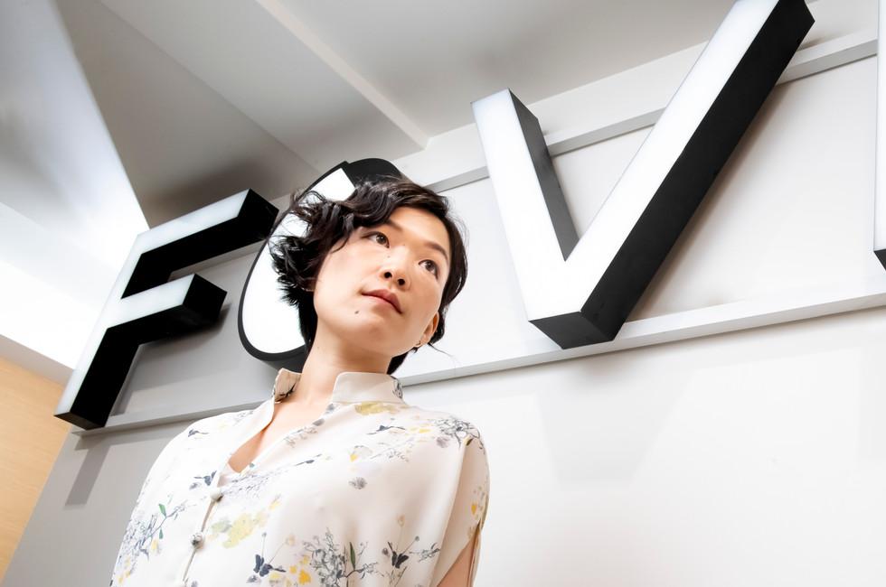 FOVE inc. CEO   小島由香