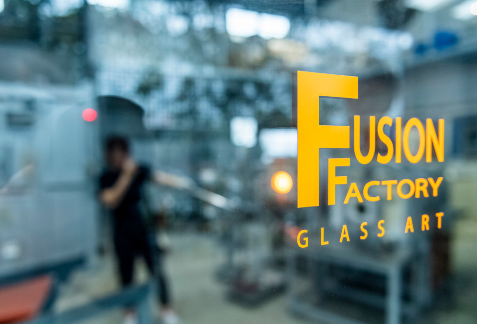 """Fusion Factory glass art"""