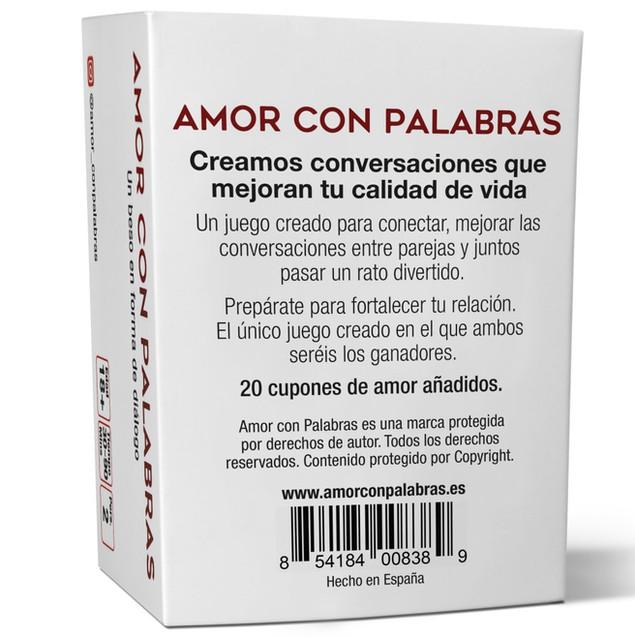 Amor Con Palabras back p