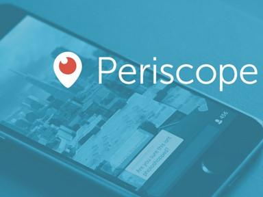"""¿Sabes qué es Periscope? El potencial del """"live streaming"""""""
