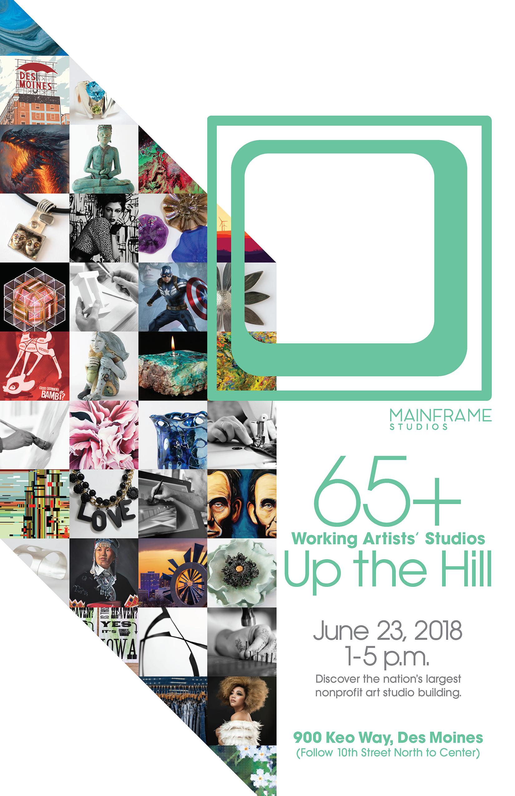 Mainframe Art Festival Poster