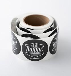 Jeff Moore Entertainment Stickers