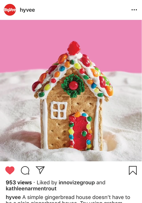 Hy-Vee Easy Gingerbread Houses