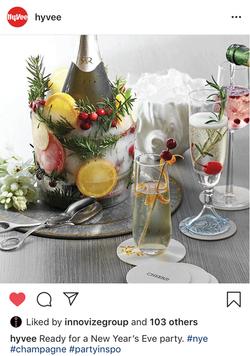 Hy-Vee DIY Champagne Cooler