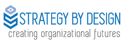 Strategy By Design Logo and Logotype