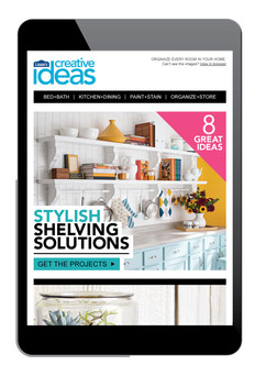 Lowe's Creative Ideas E-Newsletter