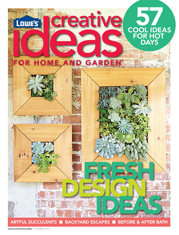 Lowes Creative Ideas Cover