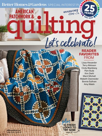 American Patchwork & Quilting Cover
