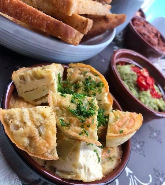 Tortilla en lookbrood