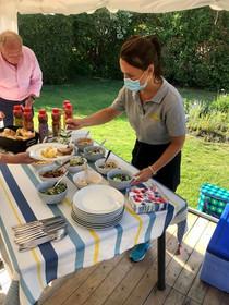 Barbecue met bediening