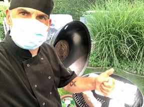 Barbecue bakker