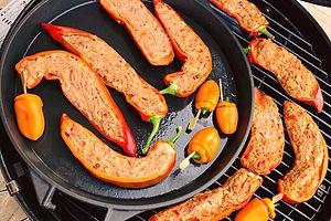 Barbecue, vege, vegge, vegie, veggie, gevulde puntpaprika, kok aan huis, verzorgen barbecue