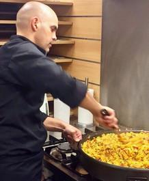 Paella receptie