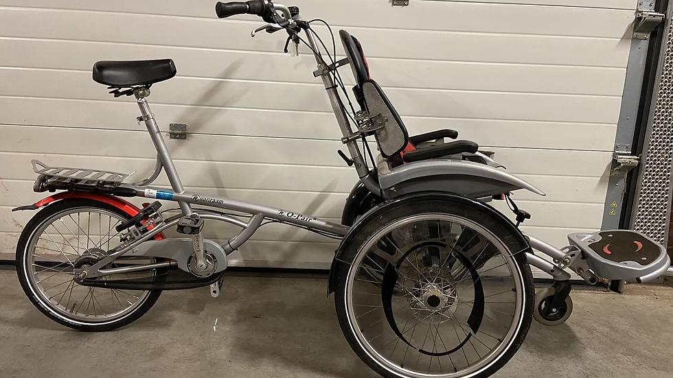 Mooie Van Raam Opair 2 rolstoelfiets. Rijdt buitengewoon licht, ook met een wat