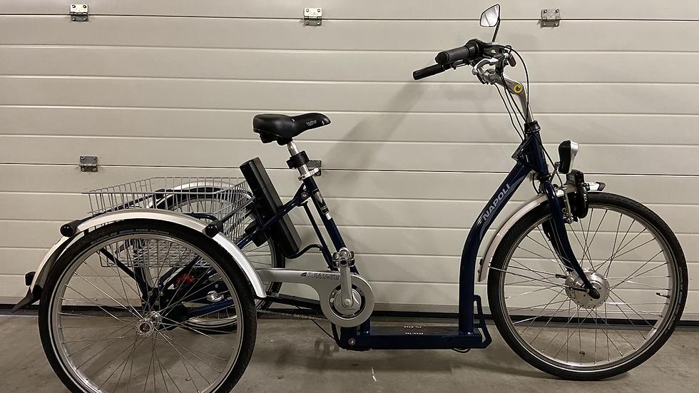 Prachtige Pfau-Tec Napoli elektrische driewieler Lage instap