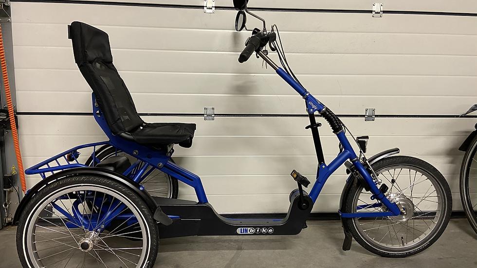 Twee mooie Linbike Singly beschikbaar. Mooie stabiele fiets!
