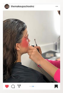 Creating an exciting look for a makeup shoot