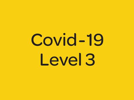 Lockdown - level 3
