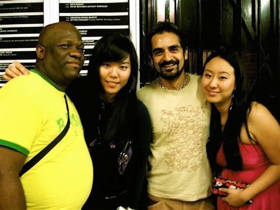 With E.L. Copeland, Kayla & Karsh Kale