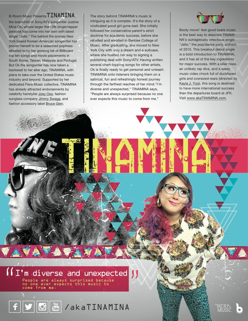 TINAMINA Press Kit