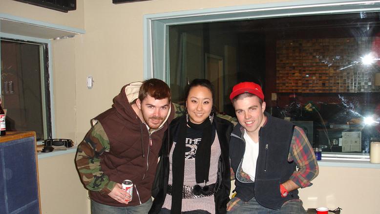 With Nick Brandes & Producer Woodro Skillson