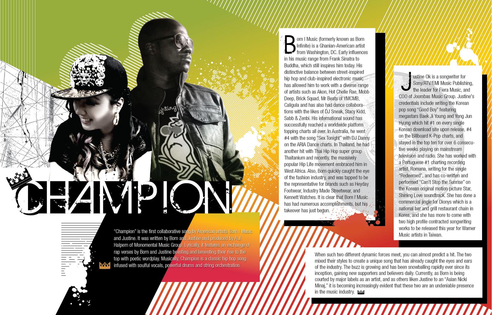 """Champion"" Press Kit - English"