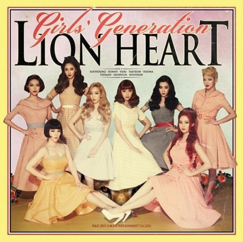 Girls' Generation: Lion Heart - The 5th Album