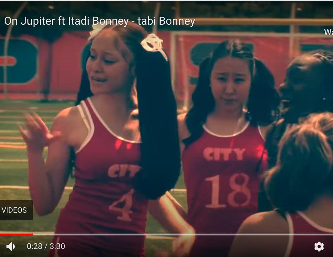 "Music Video Appearance in Tabi Bonney's ""On Jupiter"""