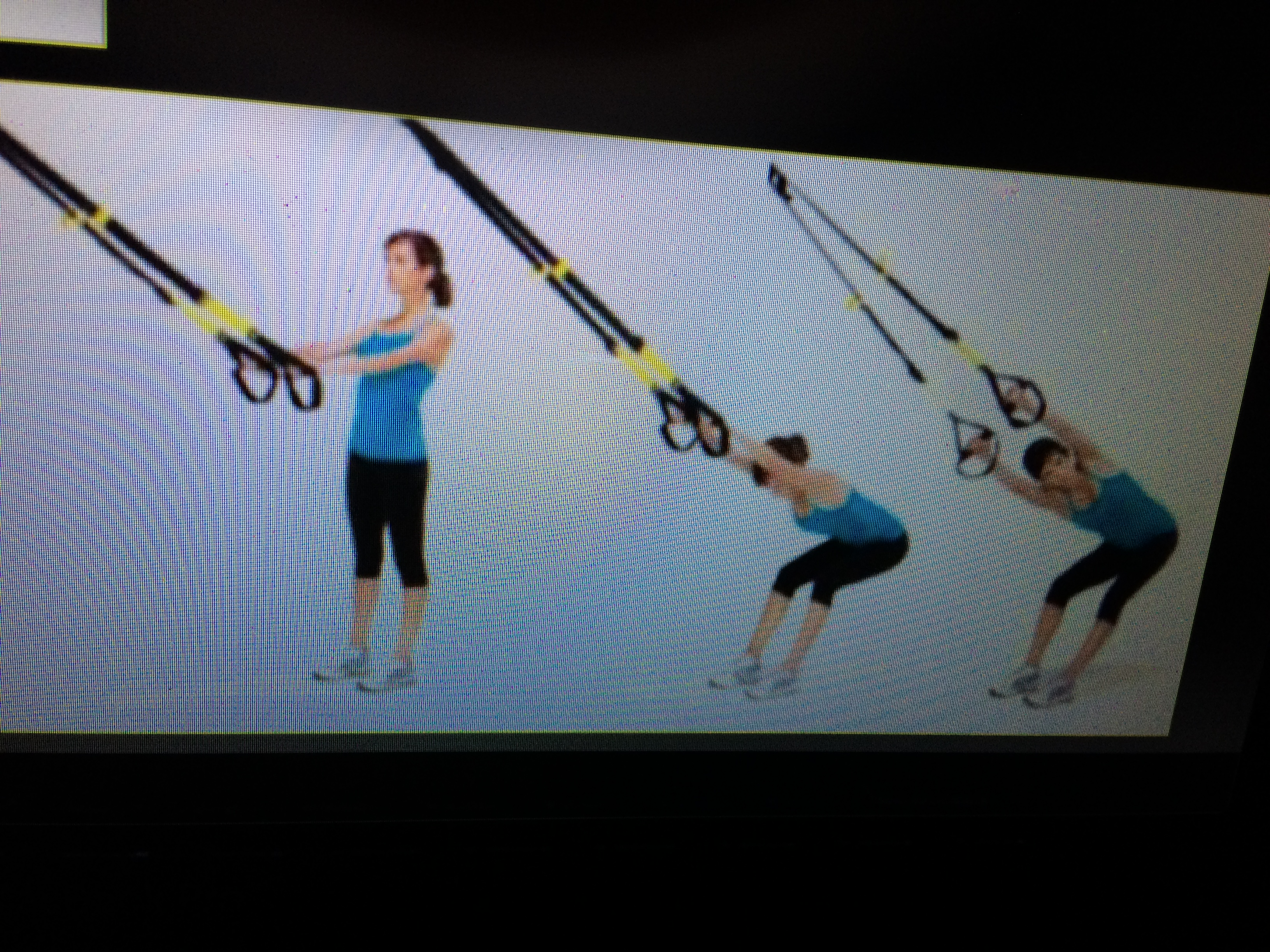 Stretching on TRX