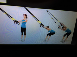 Stretching on TRX