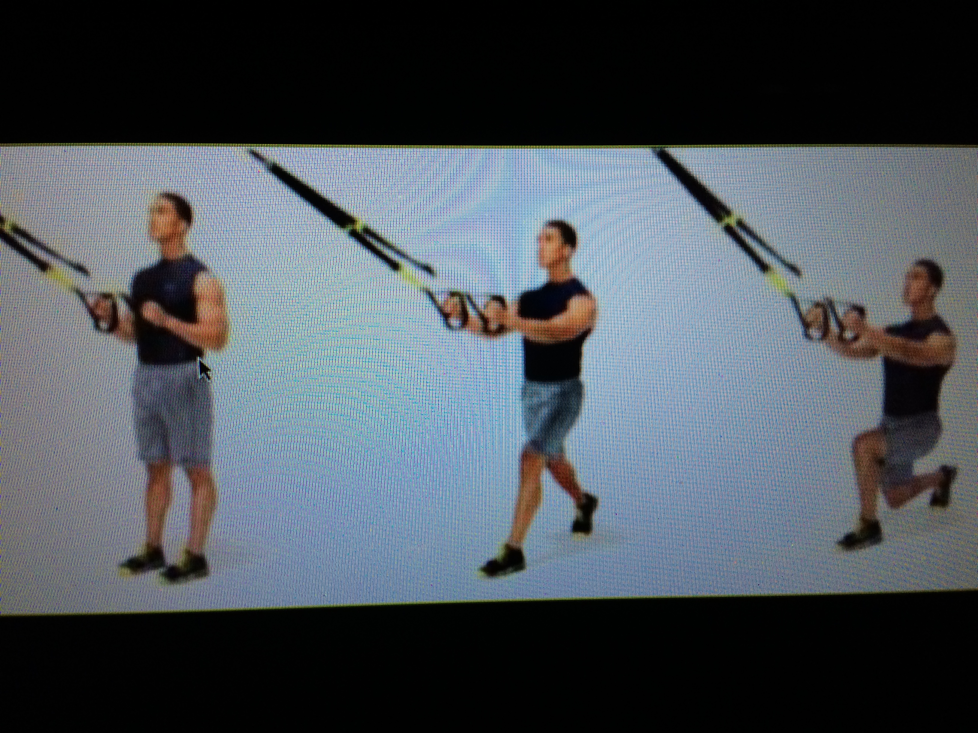 TRX Stationary Step Back Lunge