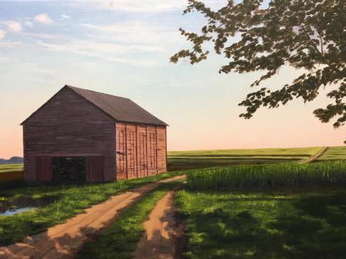 """Old Tobacco Barn"""