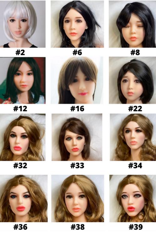 Female Love Dream Doll Heads