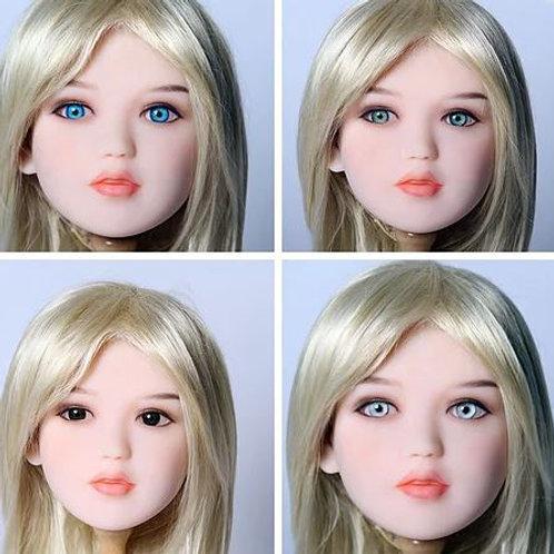 Love Dream Dolls Sex Doll Head Interchangeable Eyes