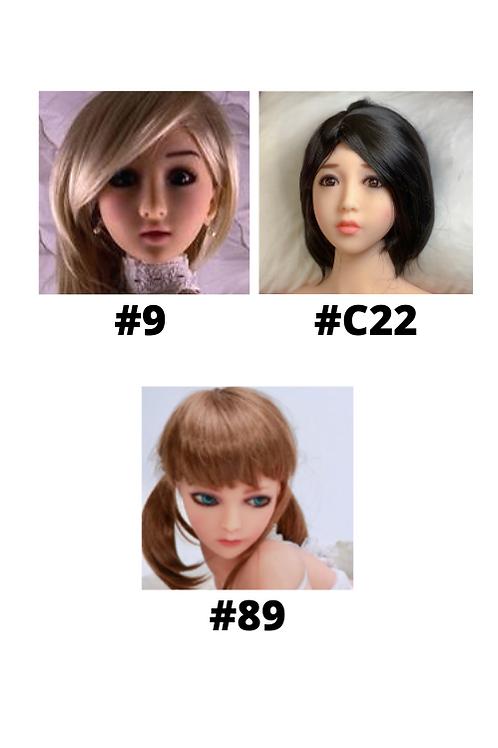 Female Love Dream Doll Heads (For 100cm & 125cm Bodies)