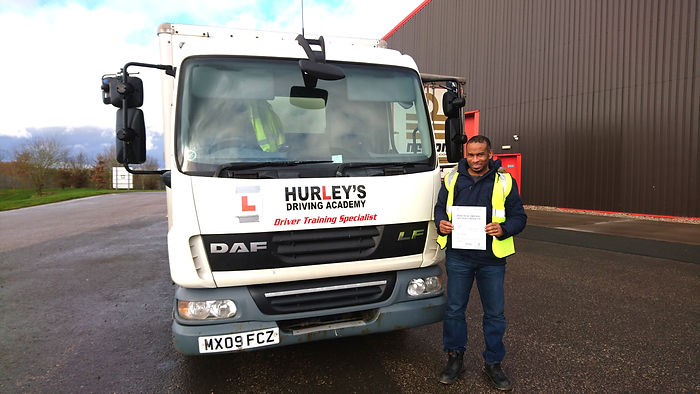 HGV and CPC training