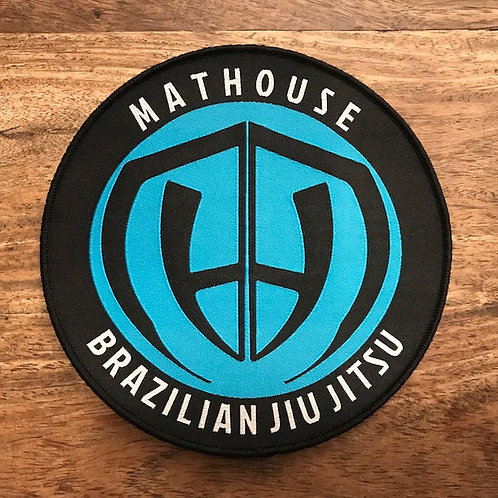 Mathouse Round Woven Patch 10cm