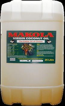 Makola Virgin Coconut Oil 25L Gallon