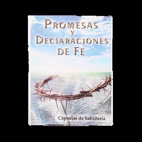 Libro de Bolsillo Promesas y Declaraciones de Fe