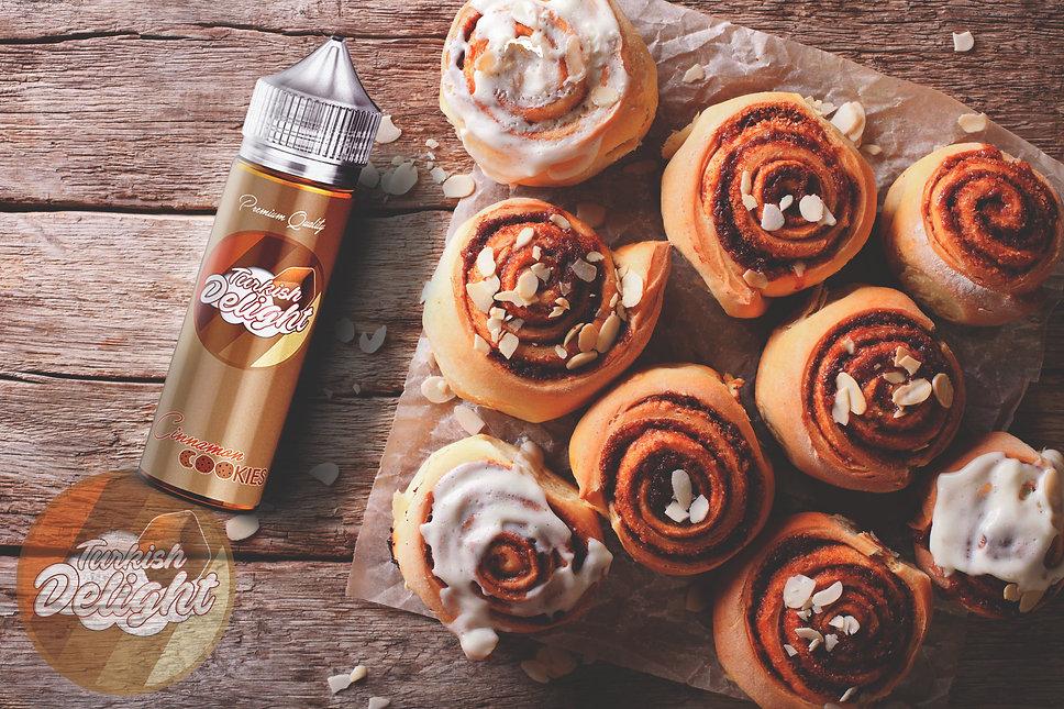 Turkish delight cinnamon cookie likit