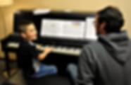 Teaching Piano Lesson Auburn
