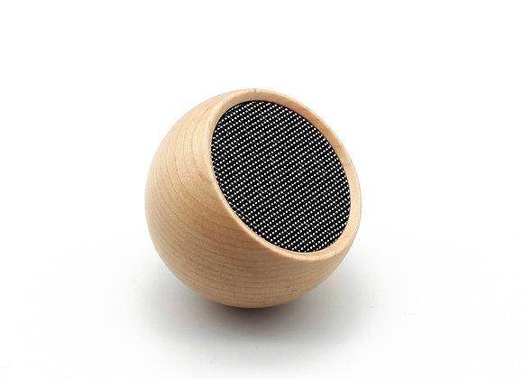 Gingko Tumbler Selfie Speaker - Maple Wood