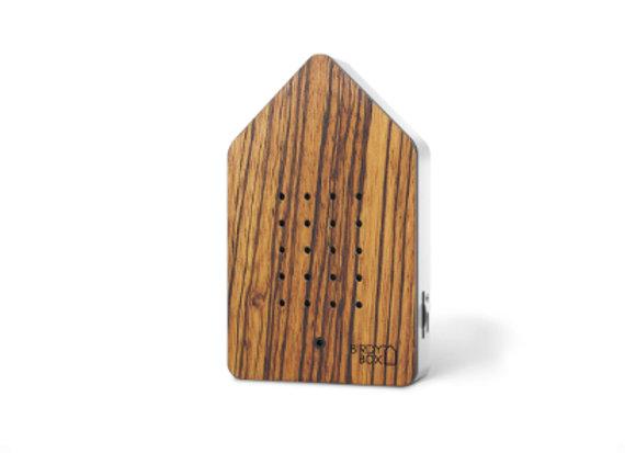 Birdybox Zebrano Wood