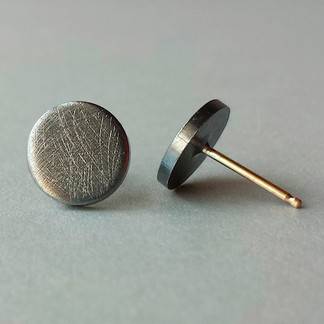 Pluto Post Earrings