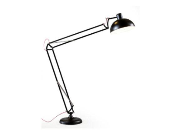 Black Matt Giant Classic Desk Style Floor Lamp