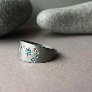 Scorpio Opal Ring