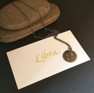 Libra Constellation Pendant