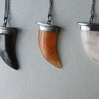 Horn Pendants
